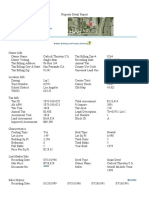 Property Detail Report