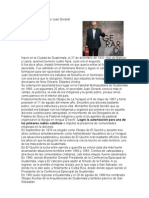 Biografía de Monseñor Juan Gerardi