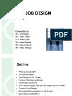 Job Design Final