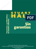 Stuart Hall - Sin Garantias