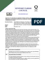 Minutes Newport PC 11th April 11 _Paper A