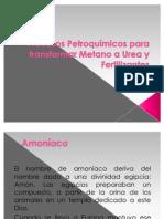 Procesos Petroquímicos para transformar Metano a Urea y Fertilizantes