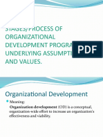 Process, Assumptions, Values n Beliefs of OD