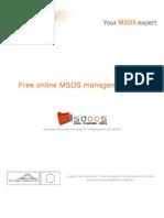 MSDS téléchargement - traduction - partage