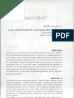 Teoría Queer_Carlos Fonseca