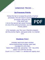 Top Windows Tricks