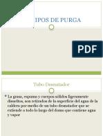 EQUIPOS DE PURGA