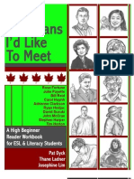 10 Canadians I'd Like to Meet