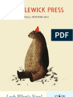 Candlewick Fall-Winter 2011 Catalog