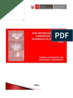 SERVIR-PDP-GuiaMetodologica
