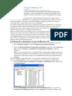 Trabalhando Com Fax No Windows XP