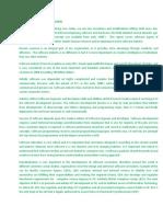 Literature Review Summary-NOV 5 2010