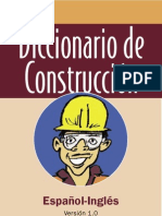 Diccionario de Construccion [Español Ingles]