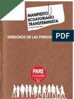 Manifiesto Ecuatoriano Transfeminista