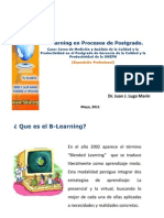 B-learning en Procesos de Postgrado