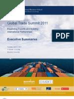 Brandeis IBS Global Trade Summit 2011 Exec Summary