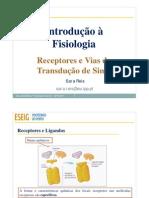 Receptores e Vias de transdução de Sinal