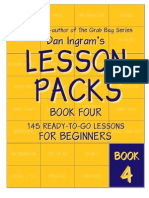 Lesson Packs - Book 4 - Sample Pages