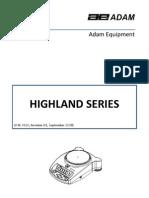 Highland User Rev D1