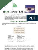 Haj-Umrah Made Easy