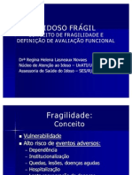 O IDOSO FRÁGIL