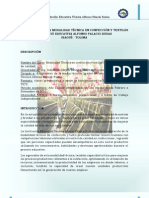 INFORMACIÓN DEL CURSO TÉCNICO EN CONFECCIÓN Y TEXTILES
