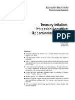 [Lehman Brothers] Treasury Inflation-Protection Securities - Opportunities and Risks