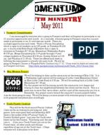 Momentum Newsletter May 2011