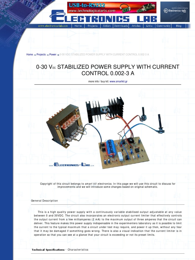 0 30 vdc stabilized power supply with current power supply solderingCopyright Of This Circuit Belongs To Smart Kit Electronics In This #8