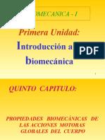 PRIMERA UNIDAD, 4º CAPITULO,PROPIEDADES BIOMECANICAS GLOBALES (PPTshare)
