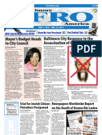 Baltimore Afro-American Newspaper, May 7, 2011