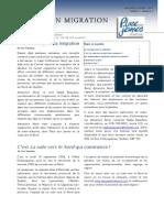 Bulletin CRMJ Septembre-Octobre 2009
