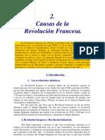 Causas Revolución Francesa