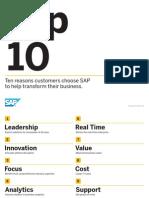 SAP-Top 10 Reasons
