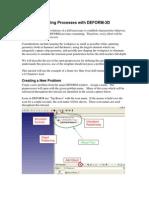 Simulating Drilling Processes With DEFORM com