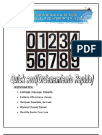 INFORME Quicksort