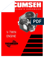 Tecumseh v-Twin Engines Service Information