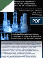 Presentación en el 3er Seminario Sub-Regional UNESCOUNESCO