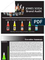 Brand Audit - Jones Soda