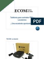 Presentación TECOM MT9956