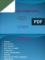 Nav Cluster Computing