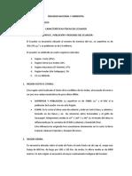 Caracteristicas Fisicas Del Ecuador