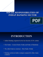 Social Responsibilities of Indian Banking Sector
