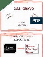 STRESS OF WOMEN EXECUTIVES