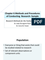 FF Chapter 6 Methods and Procedures of Conducting Research