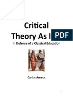 Critical Theory Book