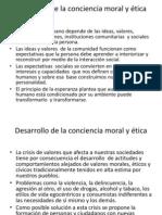 Desarrollo de la conciencia moral y ética