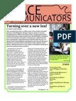 Peace Communicators (Issue 1