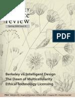 Berkeley Science Review - Spring 2006