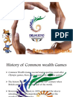Common Wealth Games 2010- Samarth Shankar